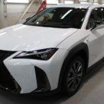 ガラスコーティング 愛知県春日井市より LEXUS UX250h 新車入庫です