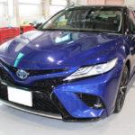 ガラスコーティング 愛知県みよし市より トヨタ カムリ 新車入庫です。
