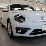ガラスコーティング 名古屋市中川区より VW ビートル 新車 入庫です。