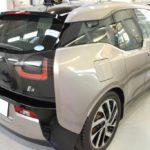 BMW i3のガラスコーティング施工が完了しました!