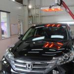 ガラスコーティング 三重県四日市市より CR-V 入庫してました