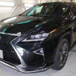 ガラスコーティング 刈谷市より 新車レクサスRX300入庫です