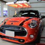 ガラスコーティング 尾張旭市より MINI COOPER S 新車 入庫です。