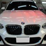 ガラスコーティング 愛知県日進市より BMW X3新車 入庫です
