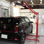 ガラスコーティング 一宮市より フォルクスワーゲン UP! GTI 新車入庫です