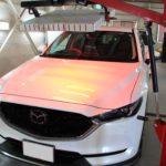 ガラスコーティング 愛知県清須市より マツダCX-5 入庫です