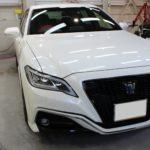 ガラスコーティング 愛知県瀬戸市より クラウンRS 新車 入庫です