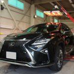 ガラスコーティング 豊田市より レクサスRX 新車 入庫です