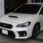 ガラスコーティング 三重県津市より WRX S4 新車入庫です