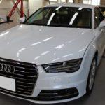 ガラスコーティング 名古屋市名東区より Audi A7 入庫です