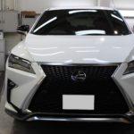 ガラスコーティング 岐阜県岐阜市より LEXUS RX 新車 入庫です。