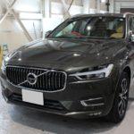 ガラスコーティング 愛知県清須市より ボルボ XC60 新車入庫です。