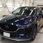 ガラスコーティング 愛知県岡崎市より マツダ CX-5 新車入庫です