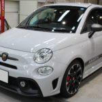 ガラスコーティング 愛知県知多市より FIAT アバルト 595 新車入庫です。