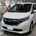 ガラスコーティング 愛知県あま市より ホンダ フリード 新車 入庫です。