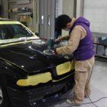 ガラスコーティング施工、BMW 7シリーズ(E38)が入庫しました。
