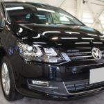 ガラスコーティング 愛知郡東郷町より VW シャラン 新車入庫です。