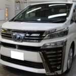 ガラスコーティング 愛知県大府市より ヴェルファイア 新車 入庫です。
