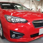 ガラスコーティング 三重県松阪市より インプレッサ 新車 入庫です。