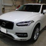 ガラスコーティング 愛知県春日井市より ボルボ XC90 新車入庫です。