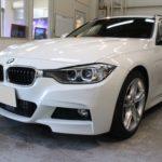 ガラスコーティング 愛知県長久手市より BMW 320d ツーリング 入庫です。