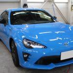 ガラスコーティング 愛知県日進市より トヨタ 86 新車 入庫です。
