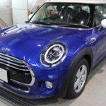 ガラスコーティング 愛知県豊橋市より BMW MINI  新車入庫です。