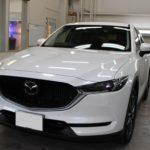 ガラスコーティング 名古屋市瑞穂区より マツダ CX-5 新車入庫です。