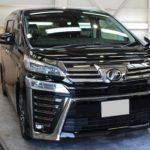 ガラスコーティング 愛知県刈谷市より ヴェルファイア 新車入庫です。