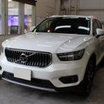ガラスコーティング 岐阜県岐阜市より VOLVO XC40 新車入庫です。