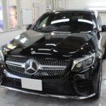 ガラスコーティング 名古屋市中川区より ベンツ GLC220d 新車入庫です。
