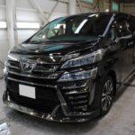ガラスコーティング 名古屋市守山区より トヨタ ヴェルファイア 新車入庫です。