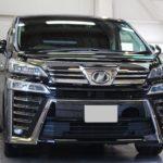 ガラスコーティング 愛知県 尾張旭市より トヨタ ヴェルファイア 新車入庫です。