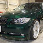 ガラスコーティング 名古屋市南区より BMW ALPINA B3 入庫です。