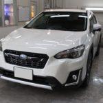 ガラスコーティング 岐阜県可児市より スバル XV 新車入庫です。