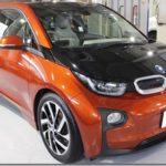 ガラスコーティング&フィルム施工、BMW i3入庫。
