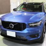 ガラスコーティング 愛知県碧南市より ボルボ XC40 新車入庫です。